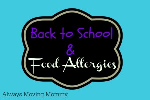 Back to School and Food Allergies