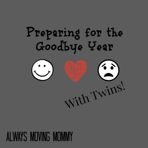Preparing for the Goodbye Year with Twins