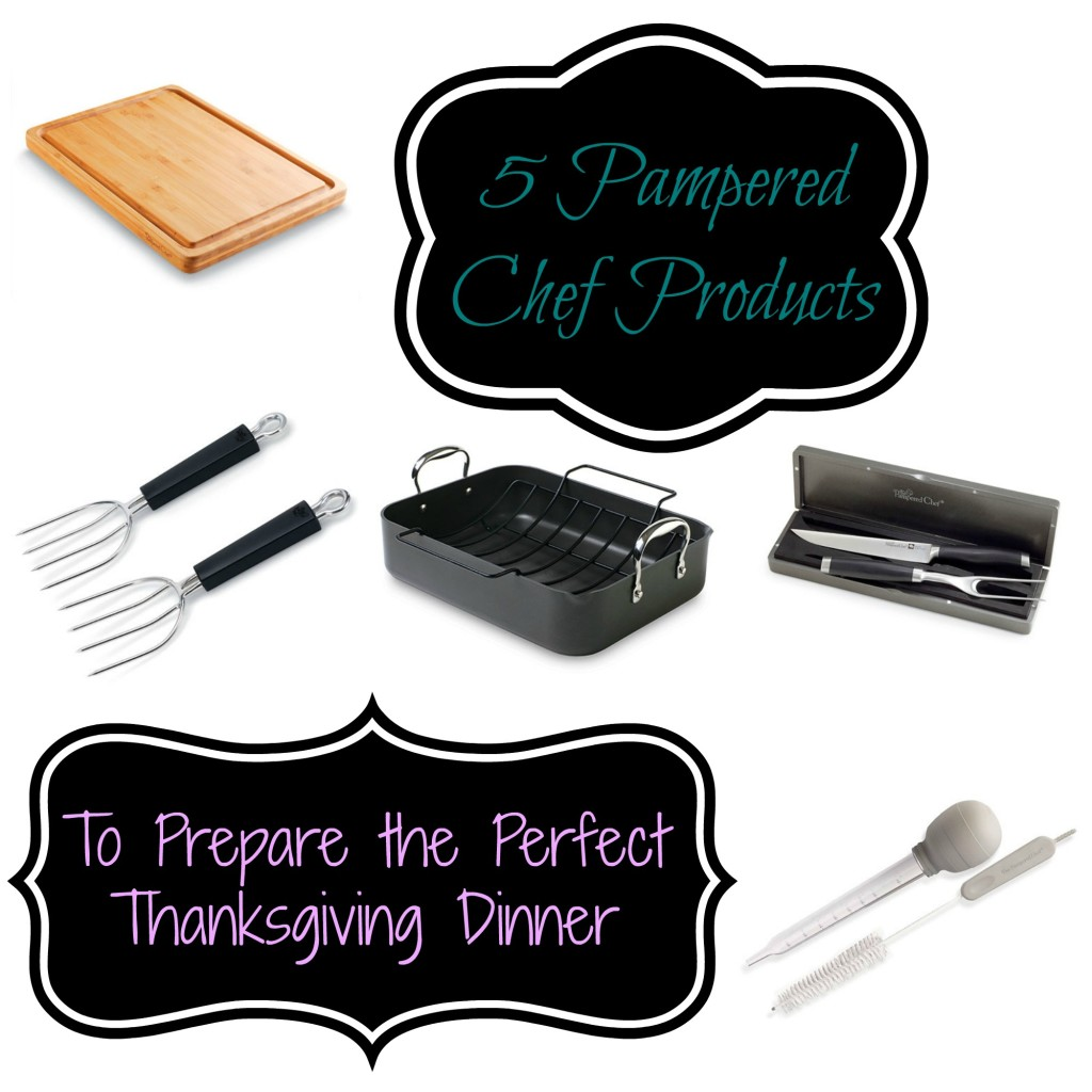 5 Pampered Chef Products to Prepare the Perfect Thanksgiving Dinner -- let these tools help make your Thanksgiving dinner even more special | www.alwaysmovingmommy.com