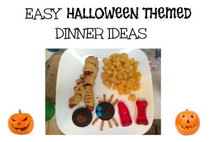 Easy Halloween Themed Dinner Ideas