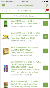 Using the Publix App to Make Shopping Even Easier -- since you've already got your smart phone at the store with you, let it help you stay organized and save some money | www.alwaysmovingmommy.com