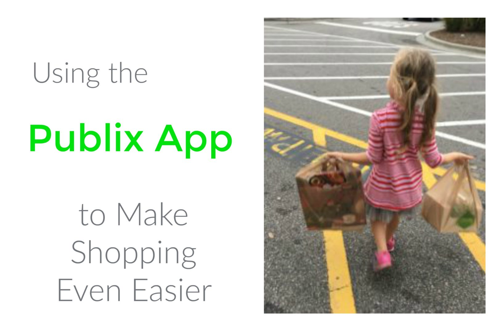 Using the Publix App to Make Shopping Even Easier   Always Moving Mommy   Shopping with kids can be challenging. With this app, you'll save time and money