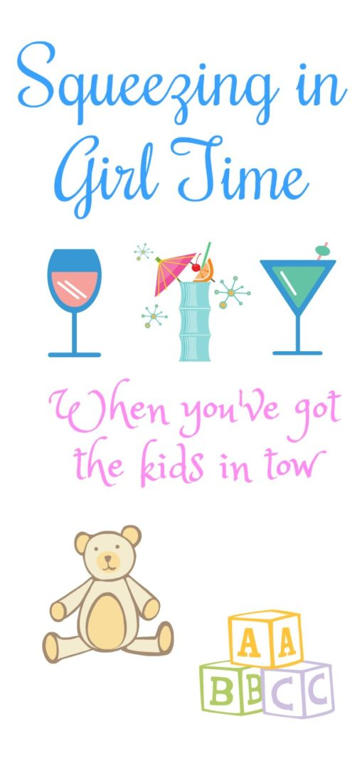Squeezing in Girl Time When You've Got Kids in Tow | AlwaysMovingMommy.com | Just because you've got the kiddos with you doesn't mean you can't enjoy some girl time.