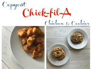 Copycat Chick-fil-A Cookies and Nuggets