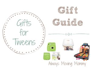 Gift Guide:  Gift Ideas for Tweens