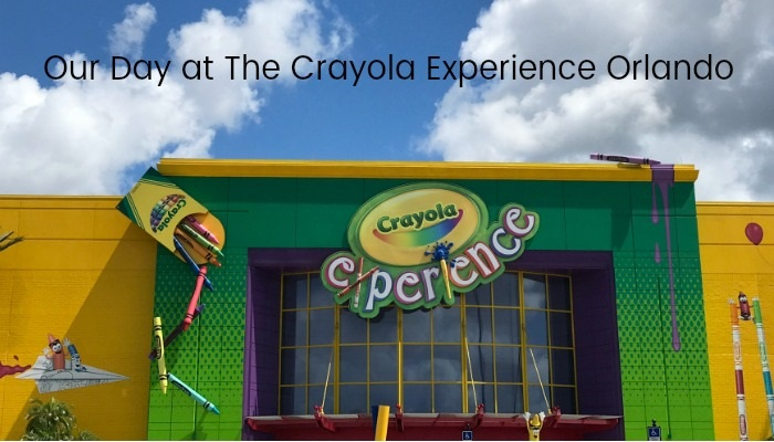 Our Day at The Crayola Experience Orlando | Always Moving Mommy