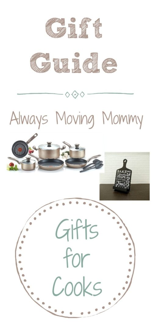 Gift Guide: Gift Ideas for Cooks   Always Moving Mommy   This gift guide has lots of practical gift ideas for that cook in your life
