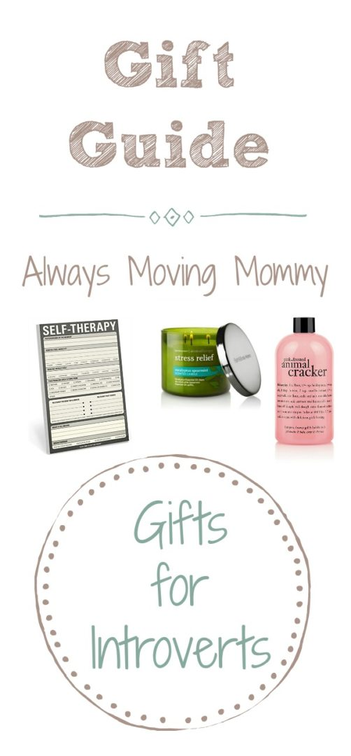 Guide Guide: Gift Ideas for Introverts | Always Moving Mommy | Know someone who's an introvert but not sure what to get them? These ideas will help.