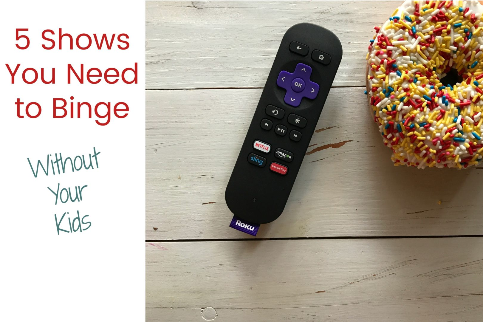 5 Shows You Need to Binge Without the Kids | Always Moving Mommy | Mommys need tv time too. Check out this list of five shows to binge without your kids