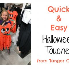 Quick and Easy Halloween Touches