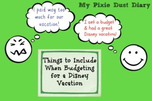 How to Budget for Your Disney Vacation