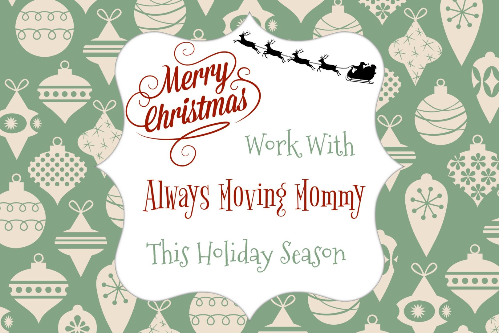Work With Always Moving Mommy This Holiday Season | Always Moving Mommy | Have a great product or service you'd like to share with the world? We can help with that!