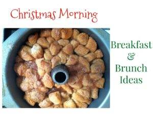 Christmas Morning Breakfast and Brunch Ideas