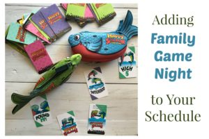 Adding Family Game Night to Your Schedule