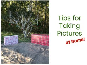 Tips for Taking Pictures at Home