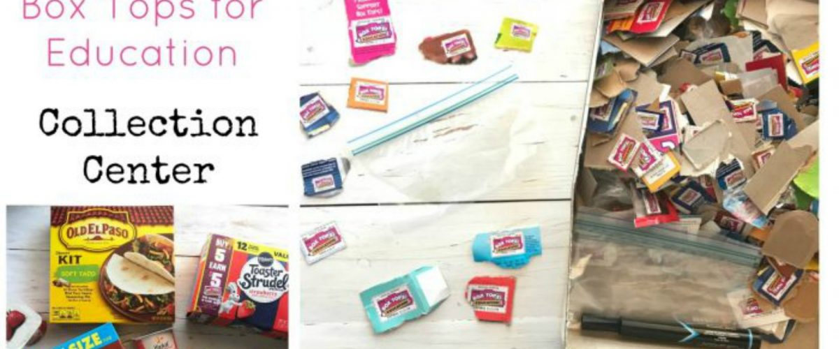 How to Create a Box Tops for Education Collection Center