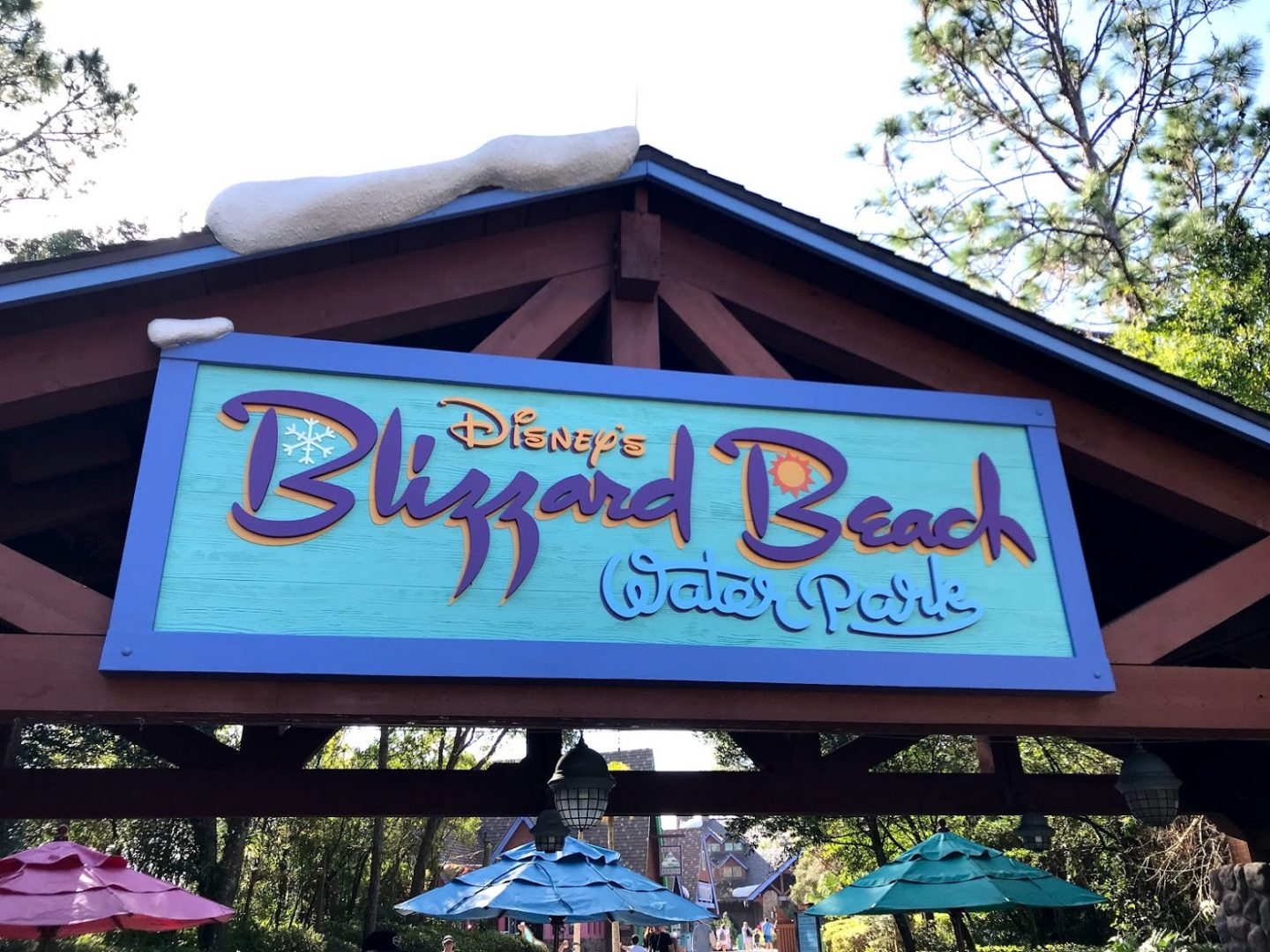 The Ultimate Guide to Walt Disney World's Blizzard Beach Water Park | Everything you need to know about visiting Walt Disney World's Blizzard Beach water park, including what to take, do, and eat at the park. | AlwaysMovingMommy.com